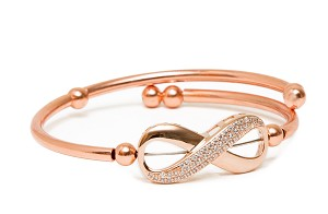 Rose Gold Infinity